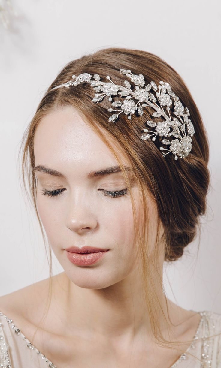 Our gorgeous Etta statement headband http://www.debbiecarlisle.com/collections/headpieces/products/large-statement-crystal-wedding-headband-etta