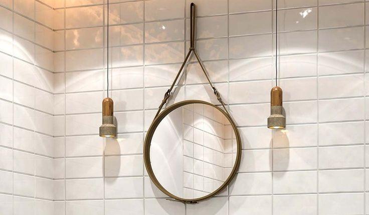 Les 25 meilleures id es concernant miroir suspendu sur for Comment faire un miroir
