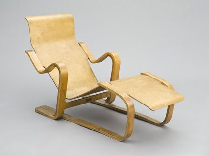 Isokon Furniture-> Long Chair- designed by Marcel Breuer in 1935-1936.