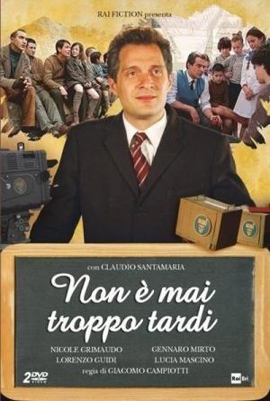 CINE(EDU)-983. El maestro. Dir. Giacomo Campiotti. Drama. Italia, 2014. n 1946, Alberto  Manzi tras regresar da Guerra busca traballo como mestre, unha tarefa nada fácil xa que carece de recomendacións. Finalmente atopa un traballo que ninguén quere, como profesor nun  reformatorio da cidade. Aos seus alumnos non lles interesa aprender e Alberto terá que gañarse a súa confianza. http://kmelot.biblioteca.udc.es/record=b1654699~S1*gag