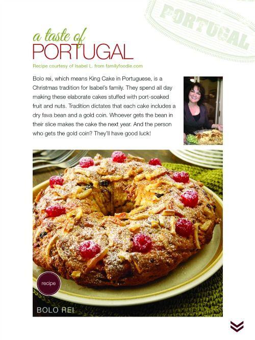 Portuguese Bolo Rei - Favorite Christmas Traditions