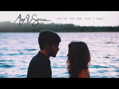 { YOU'RE THE ONE THAT I WANT }    ~~~ALEX & SIERRA COVER~~    GREASE SOUNDTRACK  WOW--this cover gives the goosebumps. They took this song and turned it into a haunting masterpiece. Slowed it down and made the heart listen. whew