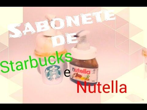 Diy Sabonete Líquido de Nutella e Starbucks Para As Mãos - YouTube