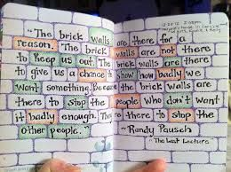 Image result for randy pausch quotes the last lecture