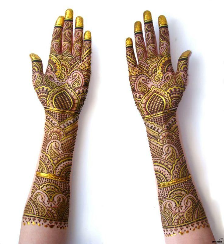 Amelia Mehndi Designs For Wedding