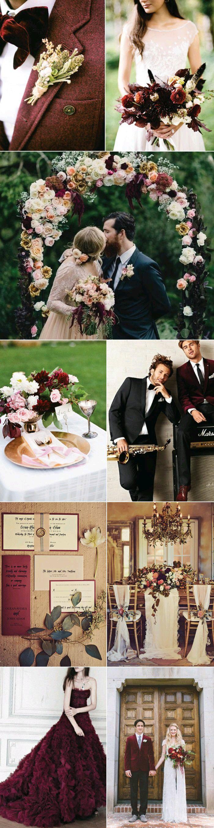 Very nice wedding color theme