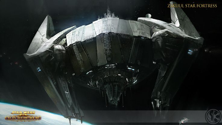SWTOR, Knights of the Fallen Empire Concept Art // Zakuul Star Fortress