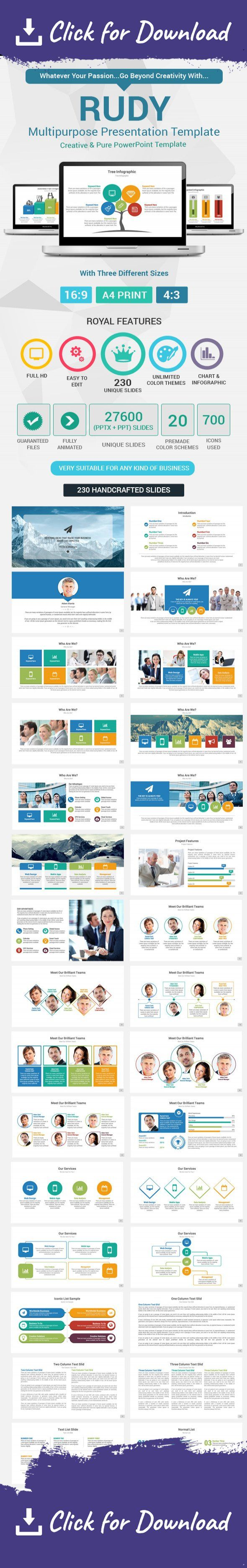 animated, awesome, blue, business, charts, clean, client, colored, corporate, creative, infographic, maps, media, minimal, modern, multipurpose, portfolio, powerpoint, powerpoint presentation, powerpoint template, pptx, professional, projects, puzzle, social, stage, stats, template, timeline Find What You Need With Our Super Creative Presentation Collection     Rudy Multipurpose PowerPoint Presentation Template All you need just in one Package. Get it now! A PowerPoint Presentation…