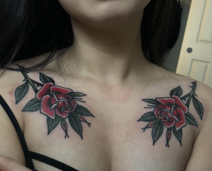 Roses on my chest done by Gary Royal at Idle Hand Tattoo in San Francisco.: tattoos
