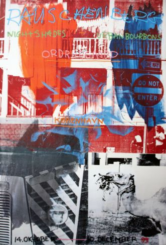 Night Shades & Urban Bourbons Collectable Print by Robert Rauschenberg at Art.com