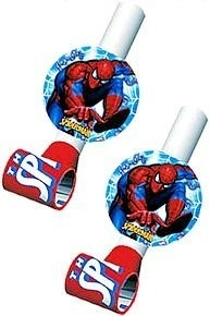Here are some great favors to add to your spiderman party theme.