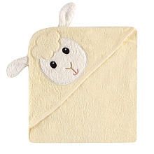 Baby Vision Luvable Friends Animal Hooded Towel  Lamb