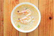 Thai Rice and Prawn Soup