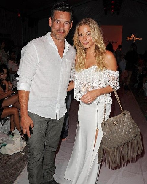 Eddie Cibrian and LeAnn Rimes are seen around Mercedes-Benz Fashion Week Swim 2015 - Day 4 at Raleigh Hotel on July 20, 2014 in Miami Beach. #leannrimes #smh #lifeandstyle #fashion #redcarpet
