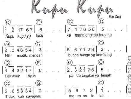 #kupukupu #kidssong #indonesian