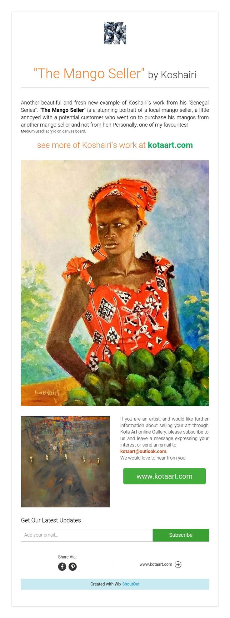 """The Mango Seller"" by Koshairi"