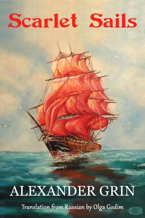 Scarlet Sails book cover