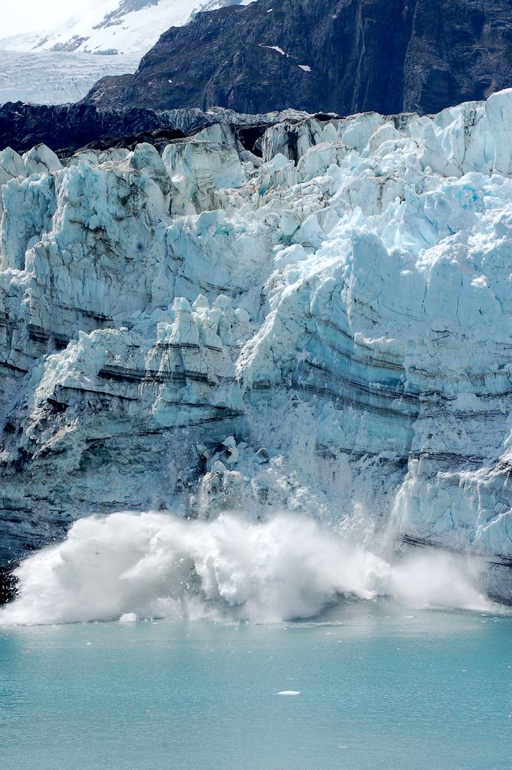 I have been on a couple Alaskan cruises and both times I watched the calving of glaciers. It's phenomenal. Life changing for sure!!