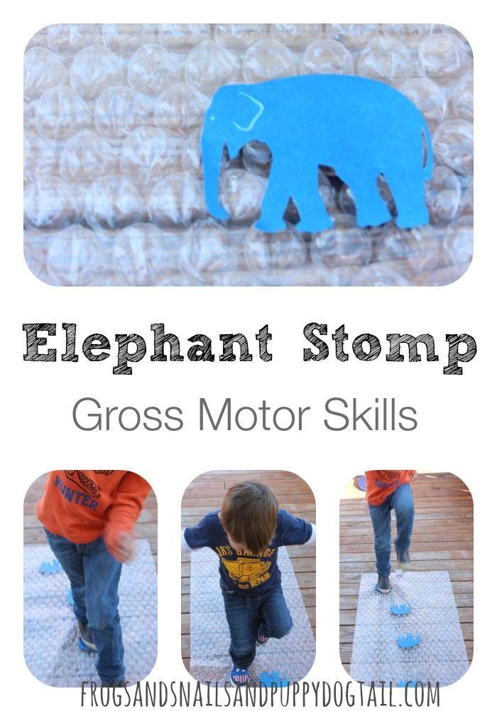 Elephant Stomp Gross Motor Activity on FSPDT