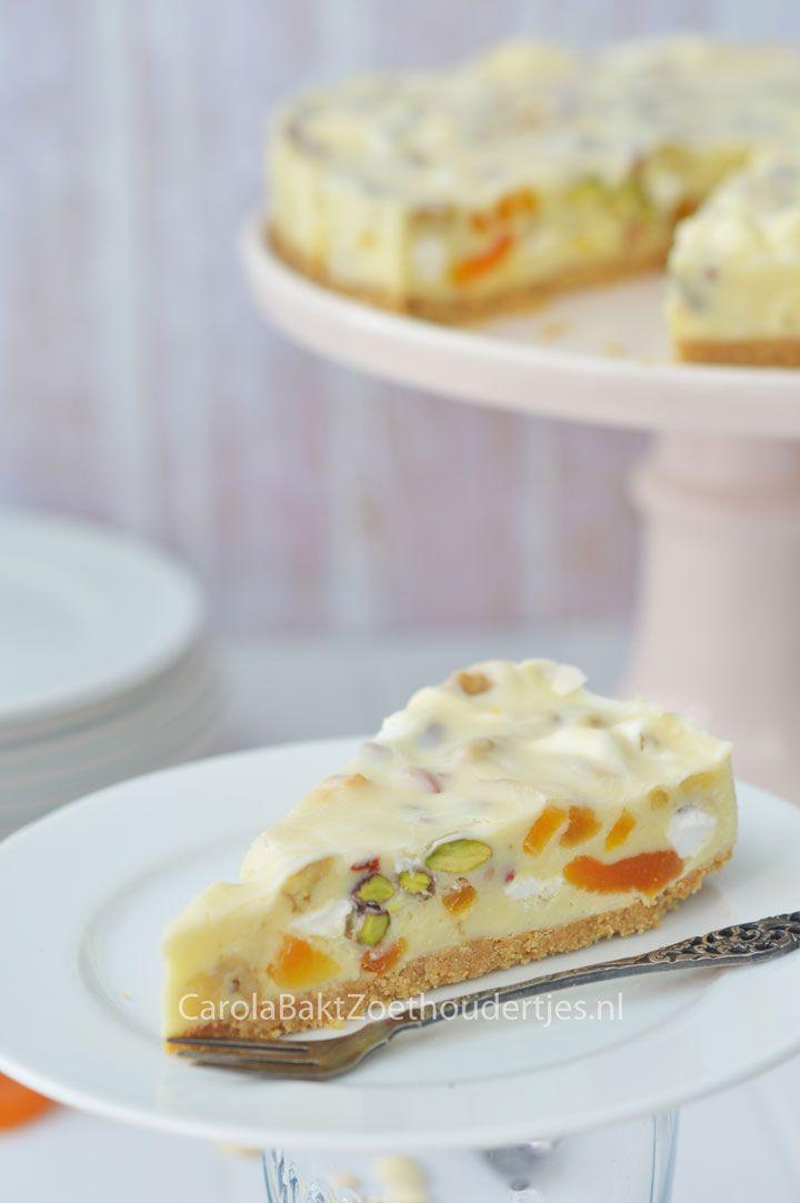 Rocky road fudgecake Fudge, maar dan in taartvorm met heerlijke nootjes en…