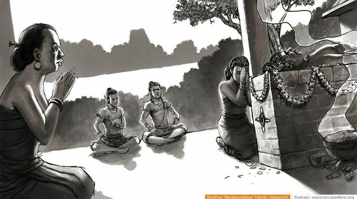 wacananusantara.org   Peristiwa 'Pemberontakan' Nambi, Majapahit