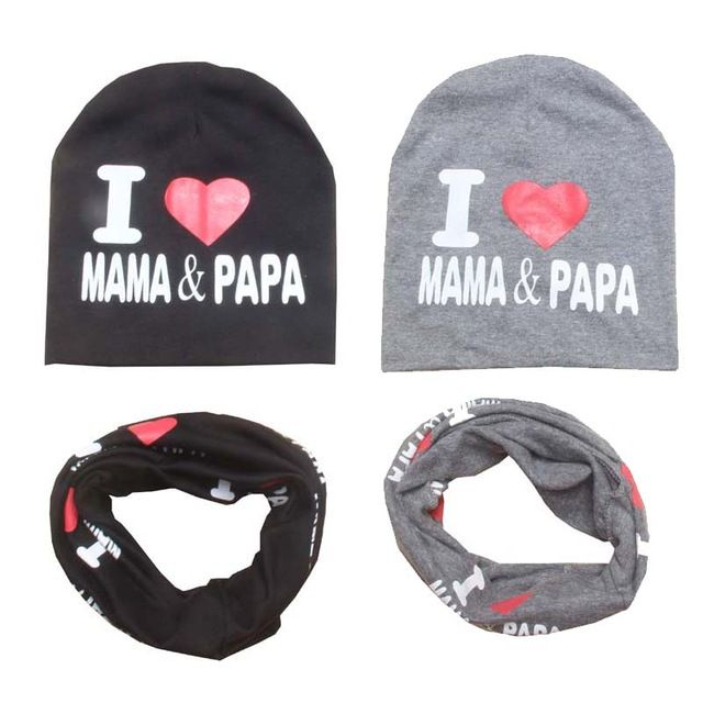 Beanie Hat Bear Papa Hiphop Knit Cap for Mens