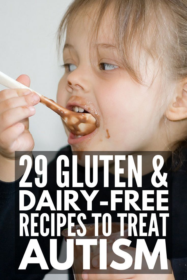 Gluten Free Casein Free Diet for Autism   The GFCF diet is one of many alternative autism treatments, and some parents see an improvement in autism behaviors when they put their child on a gluten free and dairy free diet. We're sharing our best beginner tips for a smooth transition to the diet as well as 20 of our favorite kid-approved GFCF recipes to help get you started. #GFCF #GFCFDiet #GFCFRecipes #glutenfree #dairyfree #autism #ASD