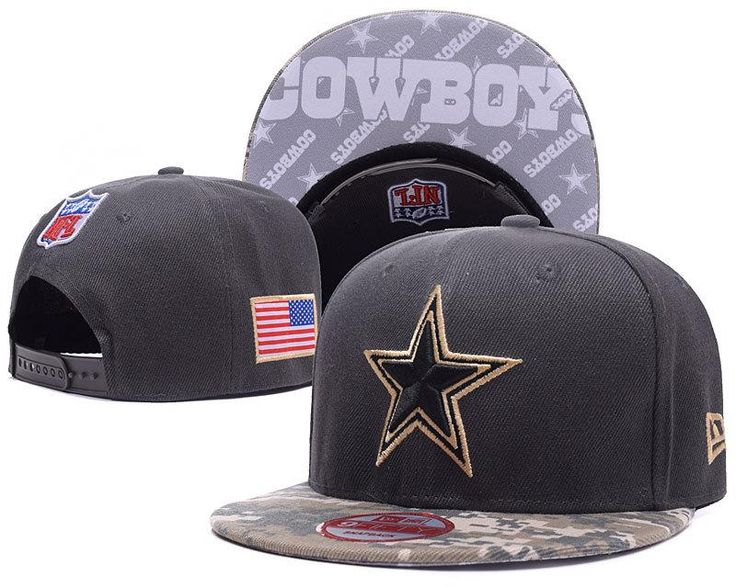Men's Dallas Cowboys New Era 9Fifty NFL Sideline Official America Snapback Hat - Black / Digital Camo