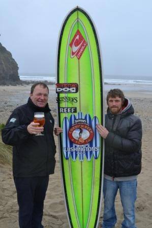 Make waves this summer with Skinners Lushingtons special edition ale