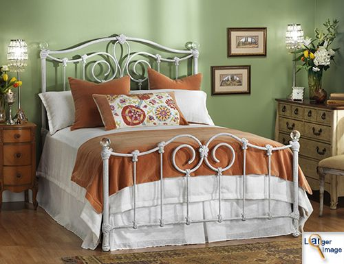 Wrought iron bed - The American Iron Bed Co.
