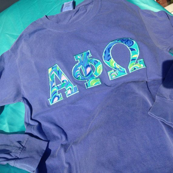 Alpha Phi Omega Lilly Long Sleeved T-Shirt by GreekCreationsByDi