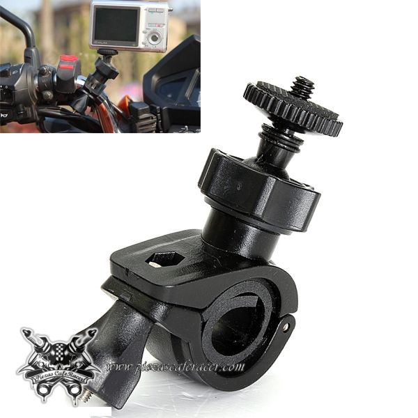 Soporte de Cámara GoPro Teléfono Fotografía Filmación Para Manillar 22mm 25mm Quad Moto - Envío Gratis a toda España - 4,61€