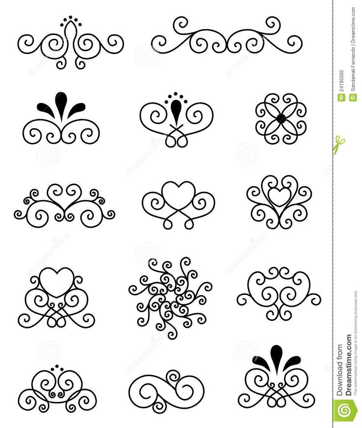 Decorative Design Elements  - Download From Over 26 Million High Quality Stock Photos, Images, Vectors. Sign up for FREE today. Image: 24195050