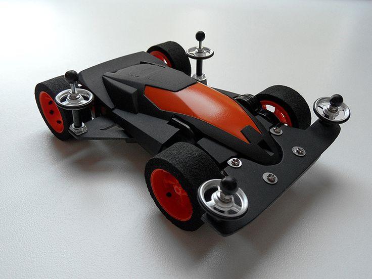 Aero Solitude, Mini 4WD Street by Aran | Mini 4WD | #Mini4WD | #Tamiya | #ミニ四駆 | #streetmini4wd