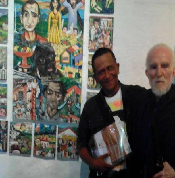 Pintor Cumarebero Leonardo Revilla gana premio Nacional de Arte Popular