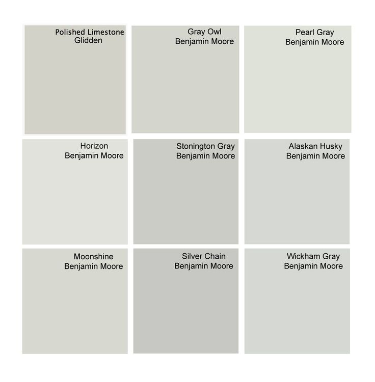 Best Gray Paint Colors Glidden Polished Limestone Benjamin Moore Gray Owl Benjamin Moore
