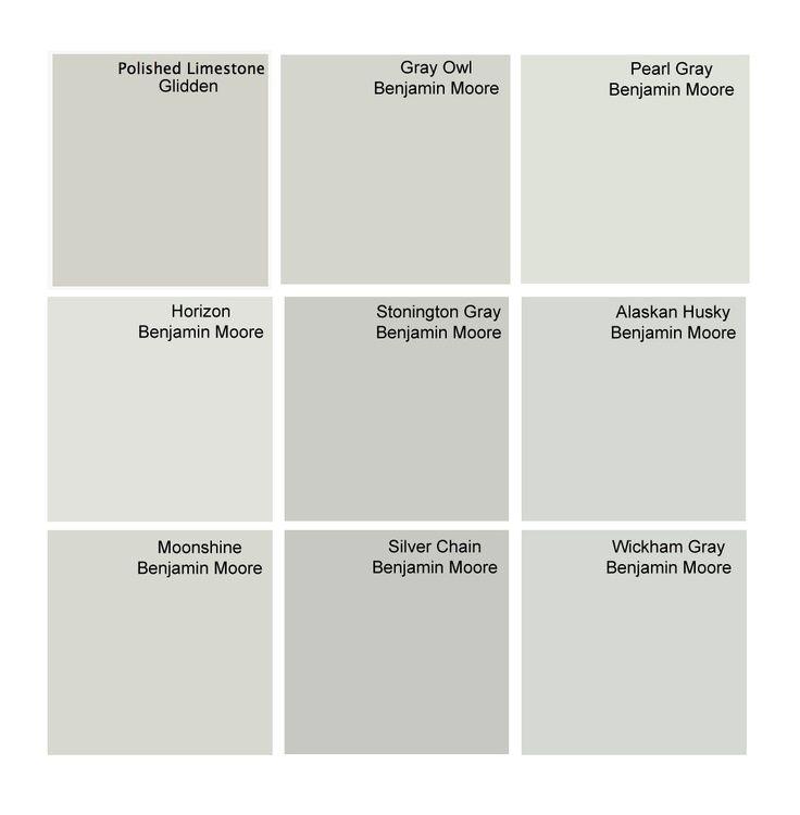 gray owl, alaskan husky, moonshine, wickham gray, stonington gray, horizon, silver chain