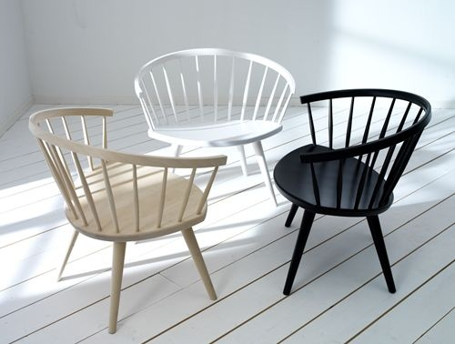 Great chairs called Arka. Designed by Yngve Ekstrom.