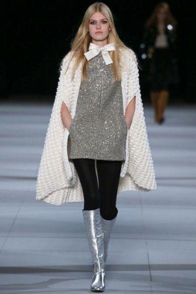 Sfilata Saint Laurent Paris - Collezioni Autunno Inverno 2014-15 - Vogue