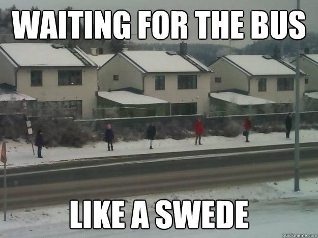 Sweden is a strange and wonderful place.