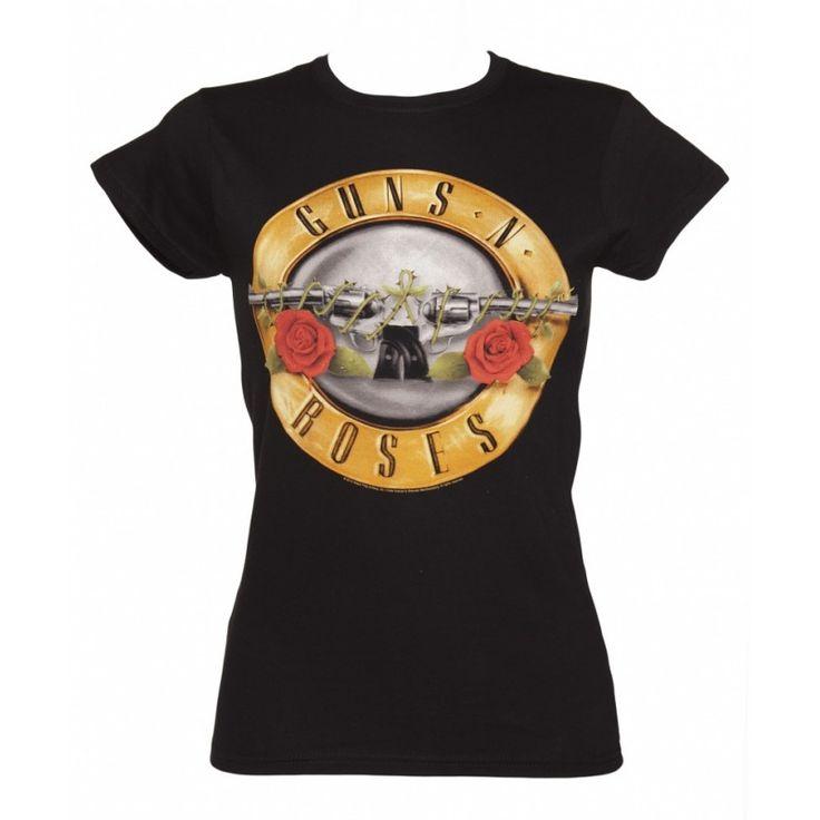 T-shirt Guns N Roses Classic Drum Logo