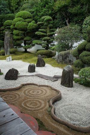 Zen garden,Kyoto by herminia