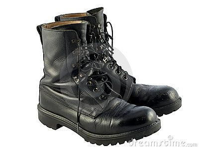 Google Image Result for http://www.dreamstime.com/black-british-army-issue-combat-boots-thumb16937274.jpg