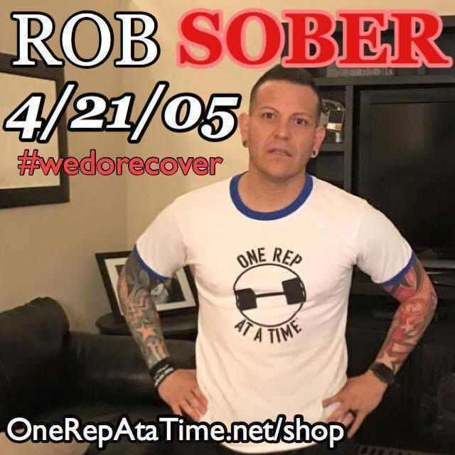 Check out our brother in Recovery...Rob. He is the REAL DEAL! He's got some major sobriety time but he doesn't just stop there. He founded Addict 2 Athlete owns a Cross-fit Box and is a four time Ironman Triathlete. It's people like him who inspired me to start One Rep At a Time - I look up to him and other predecessors who came before me who showed me this is possible. Please support him and his endeavors by visiting Addict2Athlete.org today! You will be blown away by all the work he is…