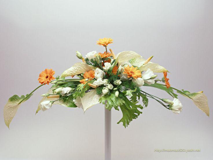 flower arrangement ikebana | Haikugirl's Japan