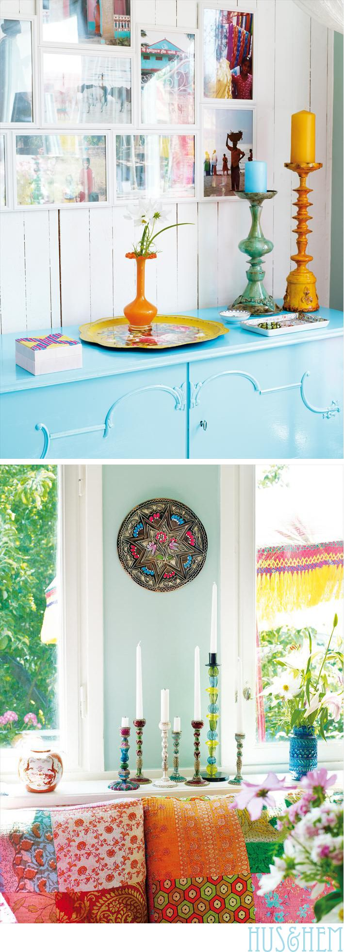Colourful Home STyle: Colourful Home STyle @Tamlyn Willard - thought of you!