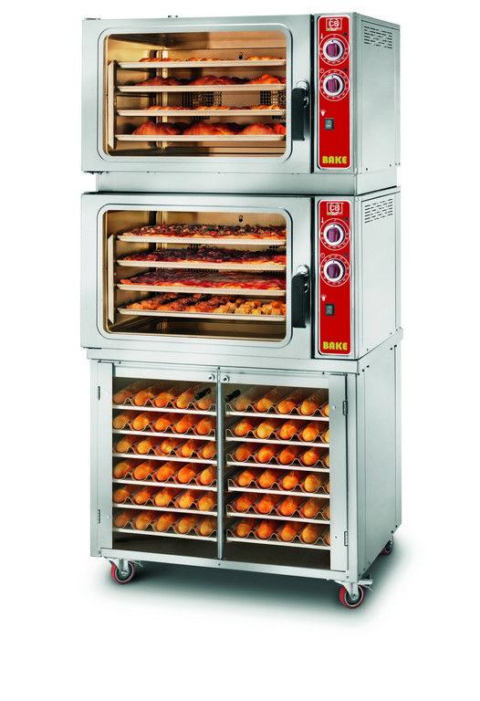 Forno elettrico a convezione GOLOSO 8 BAKE con mobiletto www.cb-italy.com