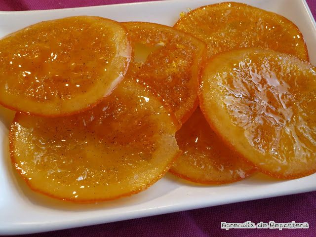 Aprendiz de Repostera: Preparando el Roscón: Naranjas Confitadas