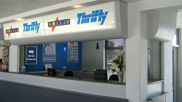 Thrifty & Dollar car hire in Port Elizabeth