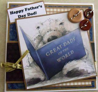 Wellington Bear Father's Day Card